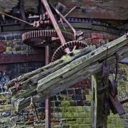 Old wind pump gear