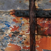 Discarded boat  detail