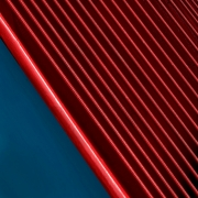 Red and Blue Diagonal