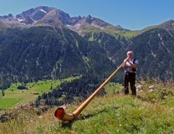 Alpine horn