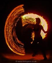 Fire dancerL
