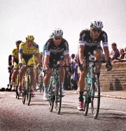 Round Britain Cycle race, Hungerford 2014