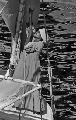 hoisting-sail