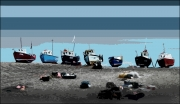 beached-fishing-boats